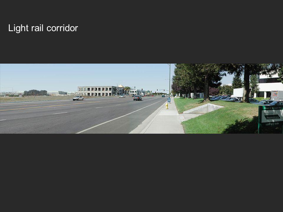 Light rail corridor