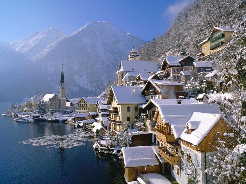 Hallstatt in Winter, Austria