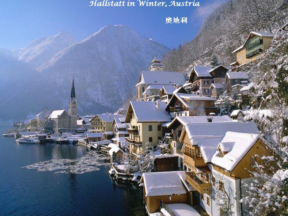 Hallstatt in Winter, Austria 奧地利