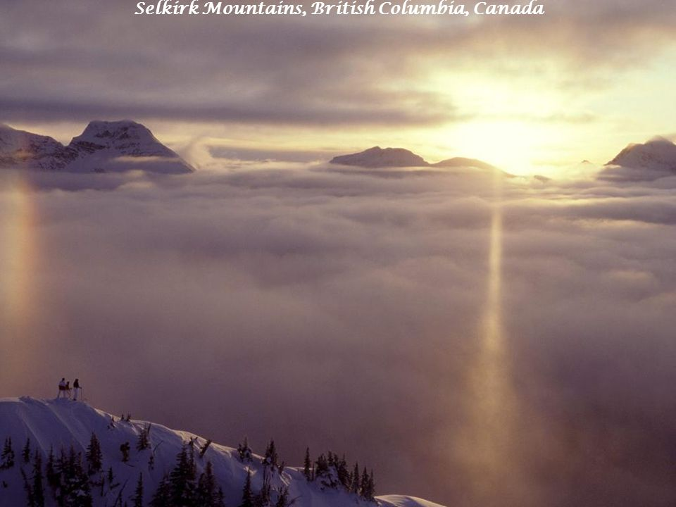 Selkirk Mountains, British Columbia, Canada