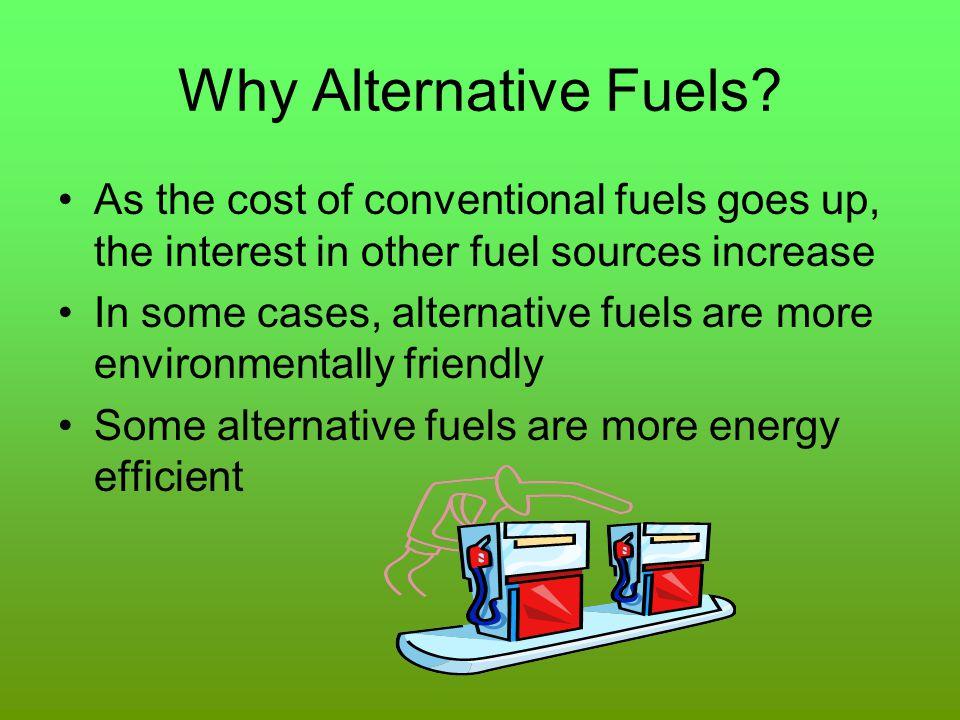 Why Alternative Fuels.