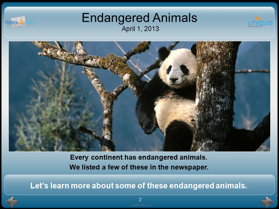 pick up trash.©1997-2013 n2y Endangered Animals April 1, 2013 How can you help animals near you.