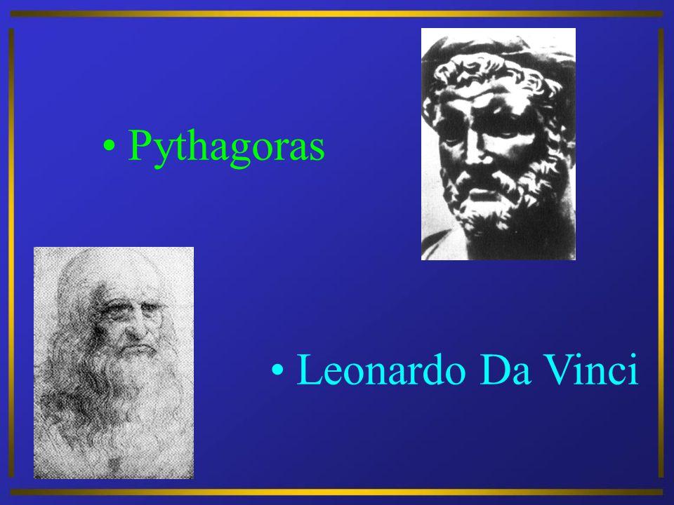 Pythagoras Leonardo Da Vinci