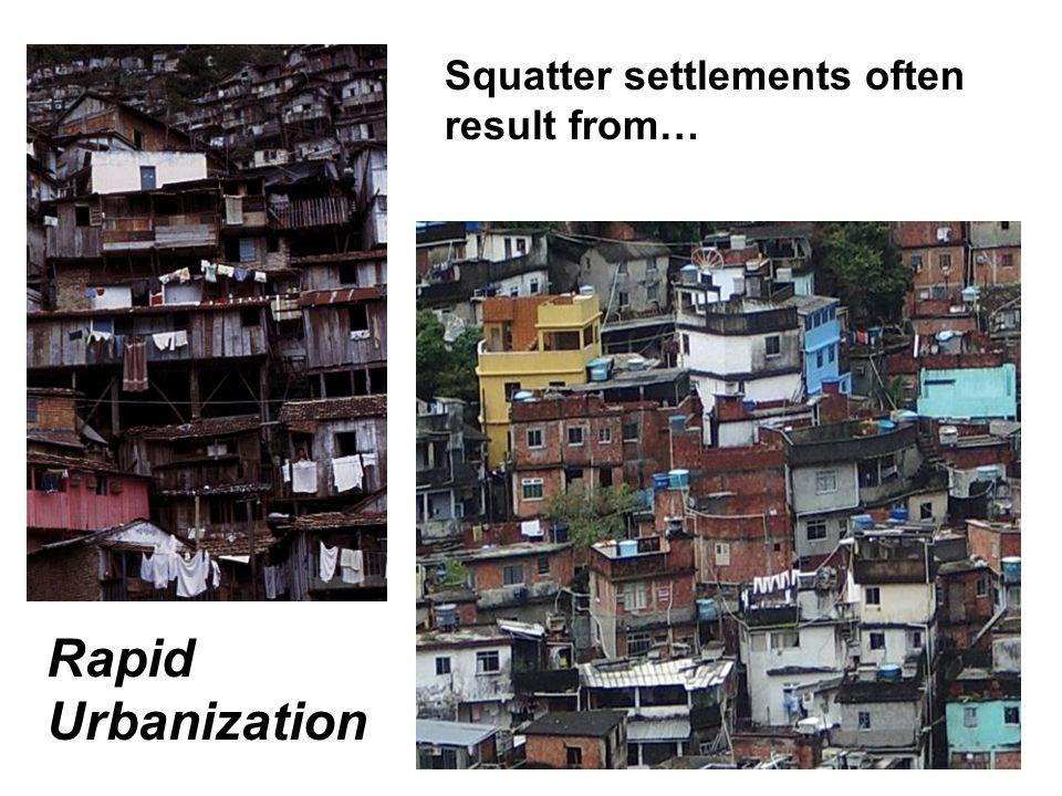 Squatter settlement/Shantytown/Favela