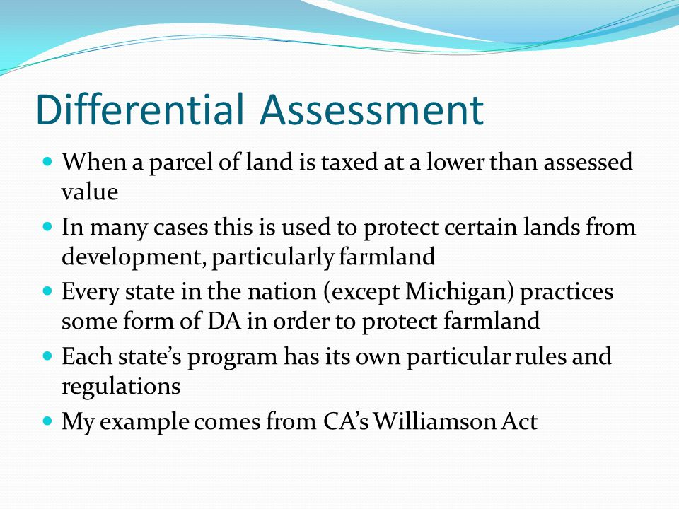 WA Background In 2002, 59% of California's 11.3 million hectares of total farmland were enrolled in the program (California (CA) Department of Conservation, 2003).