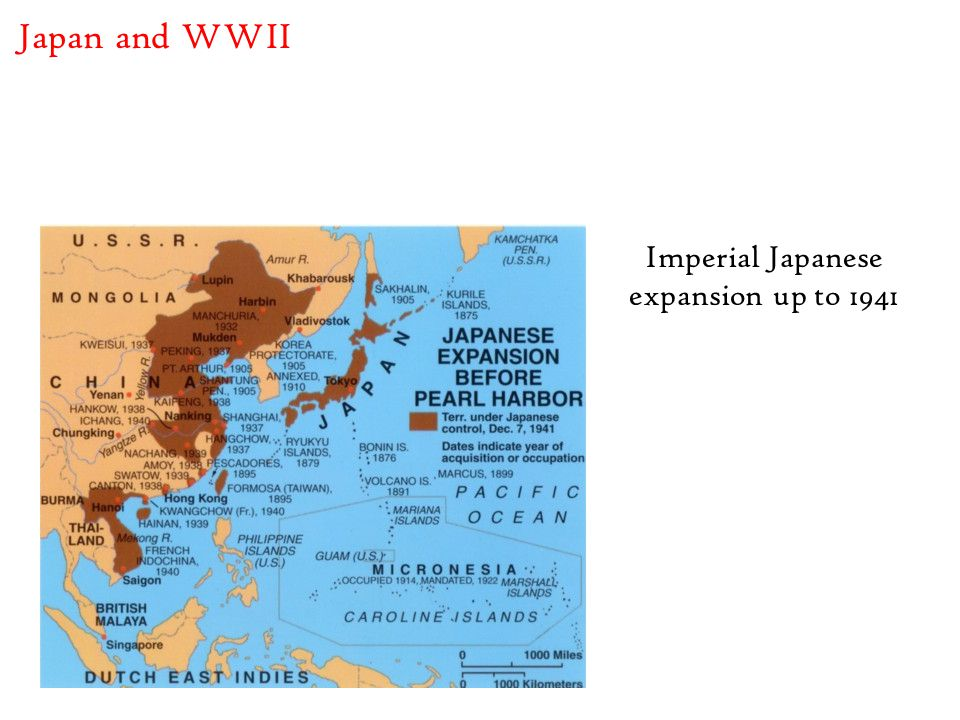 Imperial Japanese expansion up to 1941 Japan and WWII