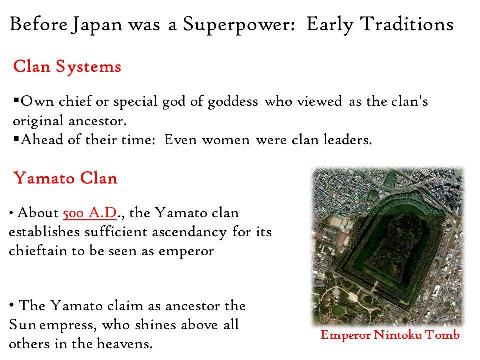 Era of Peace: Kamakura & Tokugawa Government Tokugawa Period (Edo Period 1603-1867)  Hello Tokyo  More land distribution…see a trend.