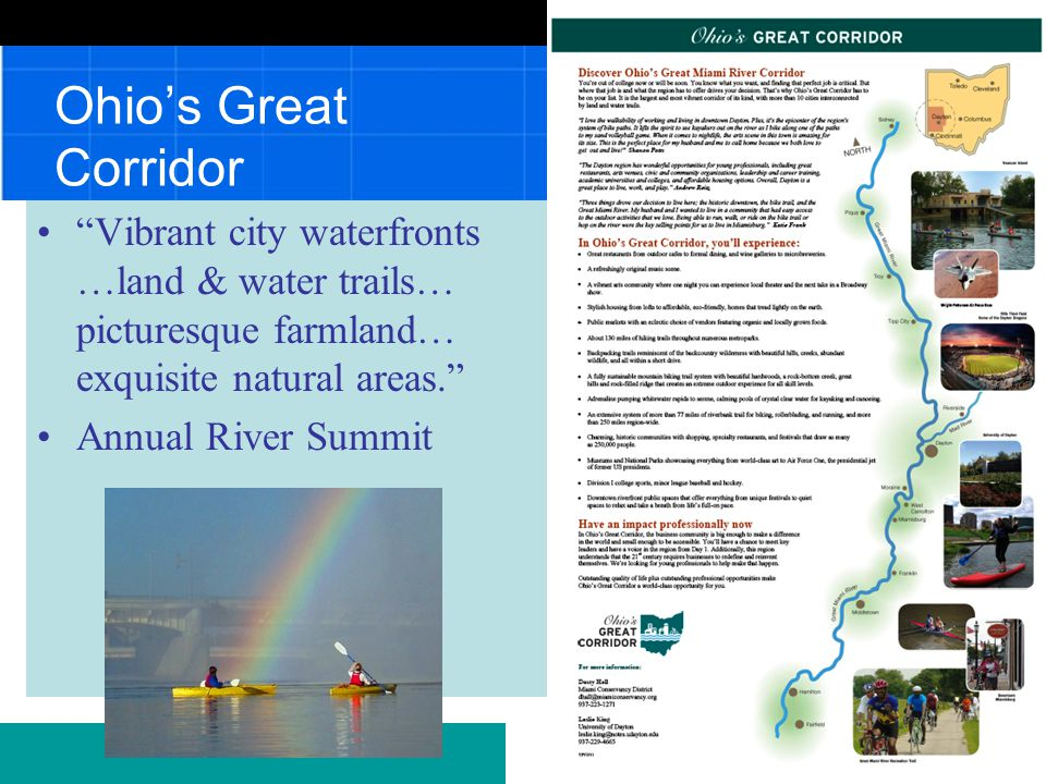 Stewards of the Great Miami River Watershed Gaining support Be careful what you wish for.