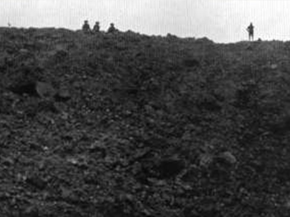 Messines, June 1917; Interlude to Prelude... The Germans later estimate that 10,000 men died in the blasts... The forward units already lying out in n