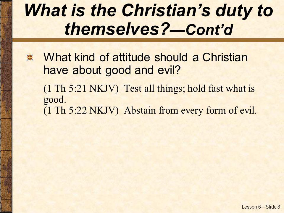 Lesson 6—Slide 9 Is partial sanctification a Biblical concept.