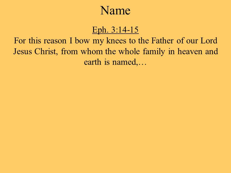 Name Eph.
