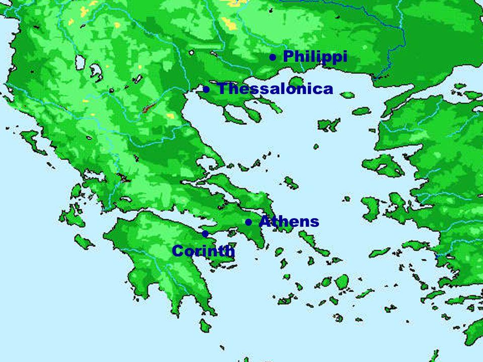 Thessalonica Philippi Athens Corinth