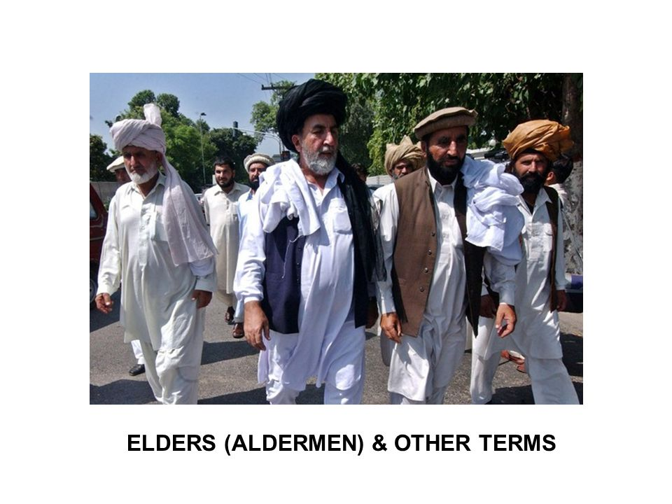 ELDERS (ALDERMEN) & OTHER TERMS