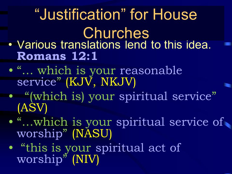 True Gospel Preaching… Various translations lend to this idea.