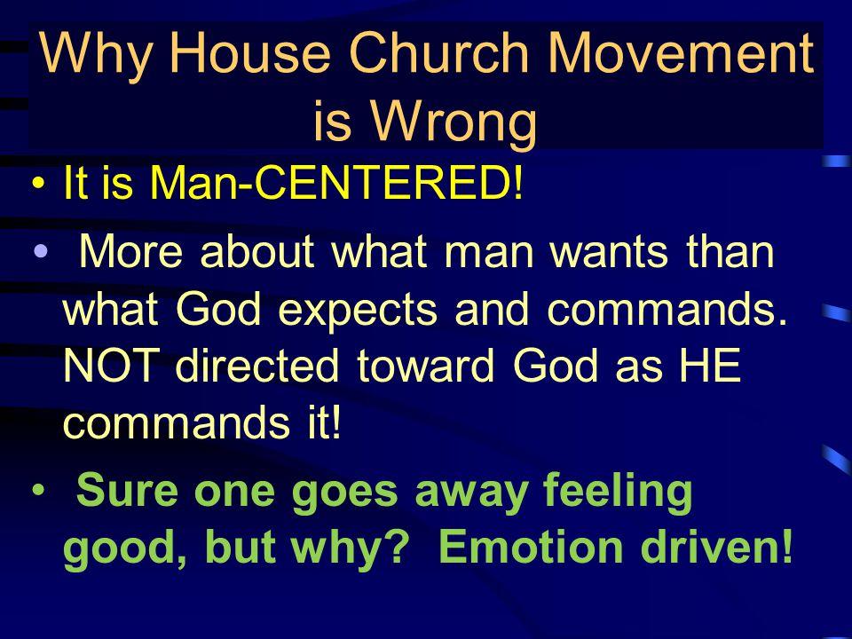 True Gospel Preaching… It is Man-CENTERED.
