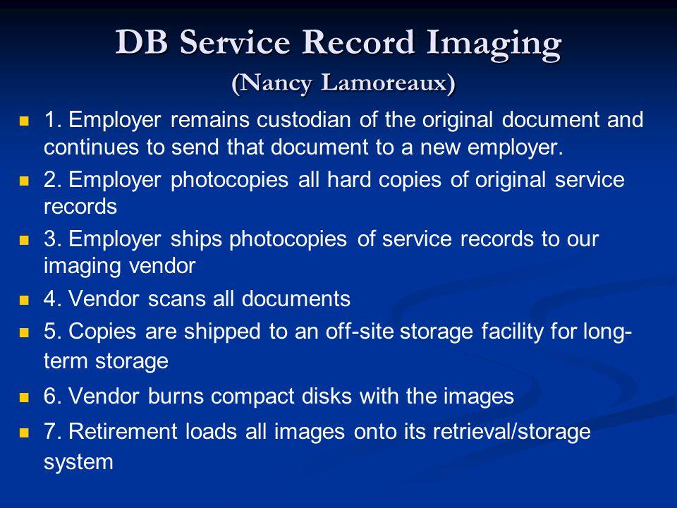 DB Service Record Imaging (Nancy Lamoreaux) 1.