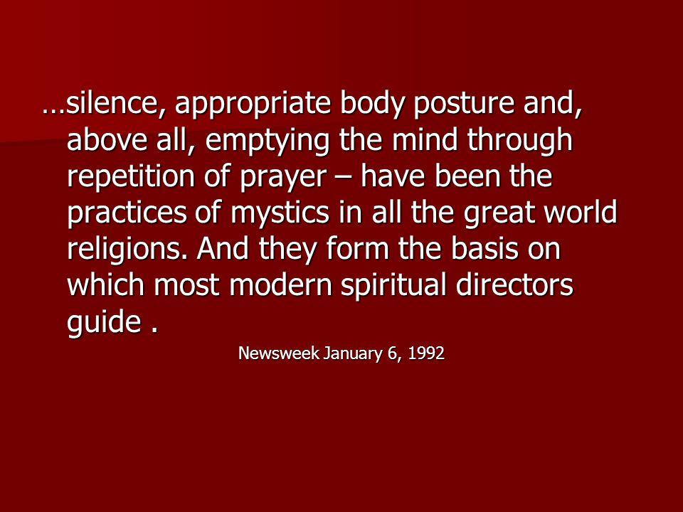 How Popular Is Contemplative Prayer?