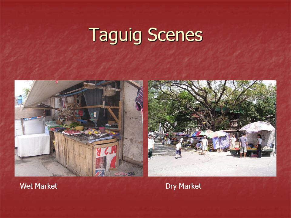Taguig Scenes Wet MarketDry Market