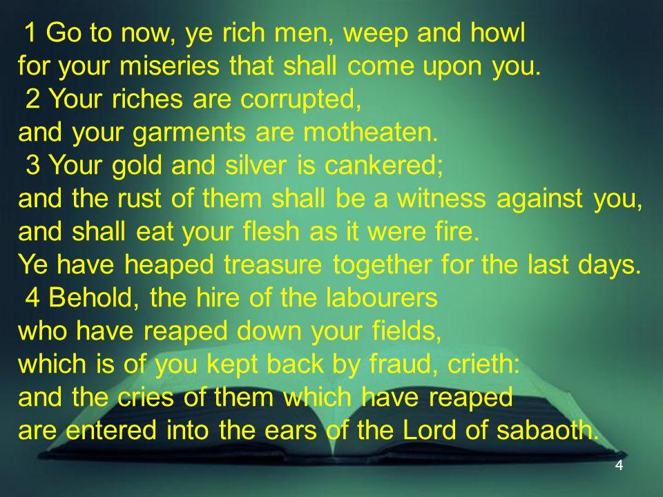 25 IV. 5:19-20 Alert Saints Restore the Fallen