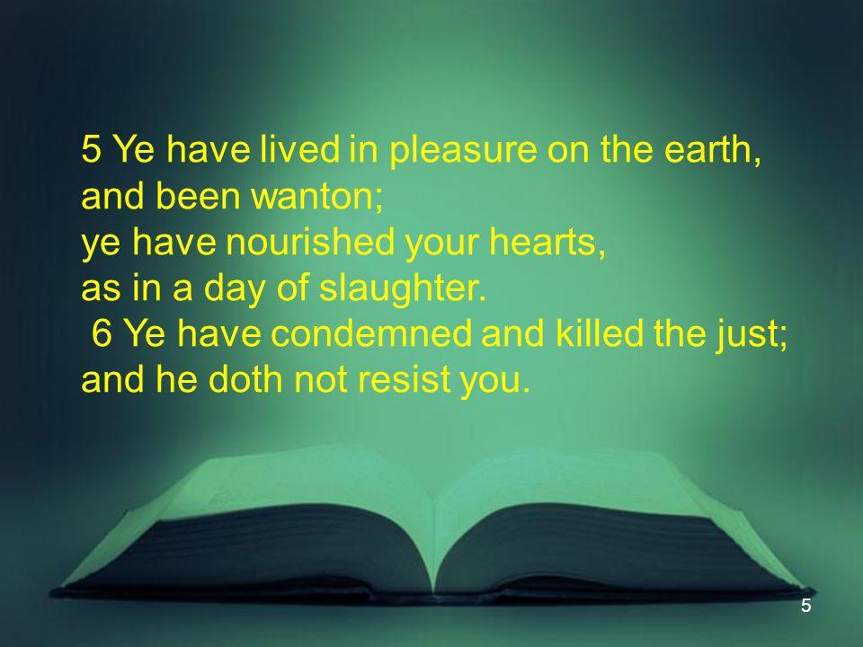 16 II.5:7-12 Patient Saints Blessed C.