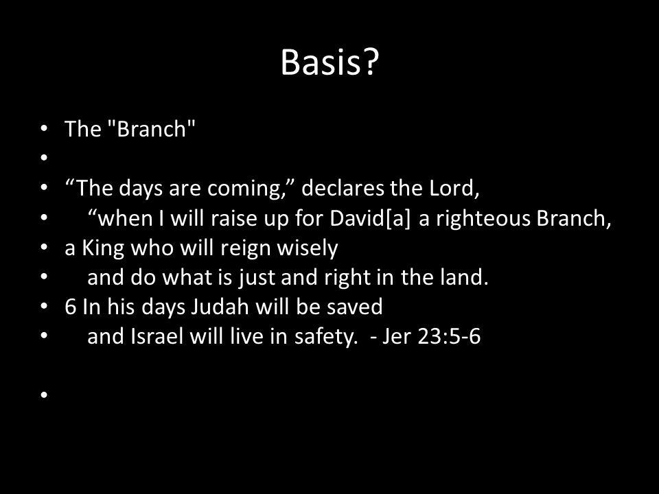 Basis? The