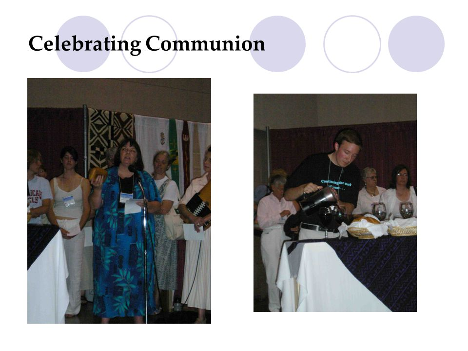 Celebrating Communion