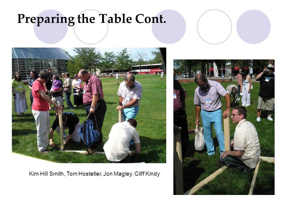 Building the Welcome Table ~ Voices for an Open Spirit (VOS) in Solidarity On Behalf of VOS: Jim Lehman, VOS Convener