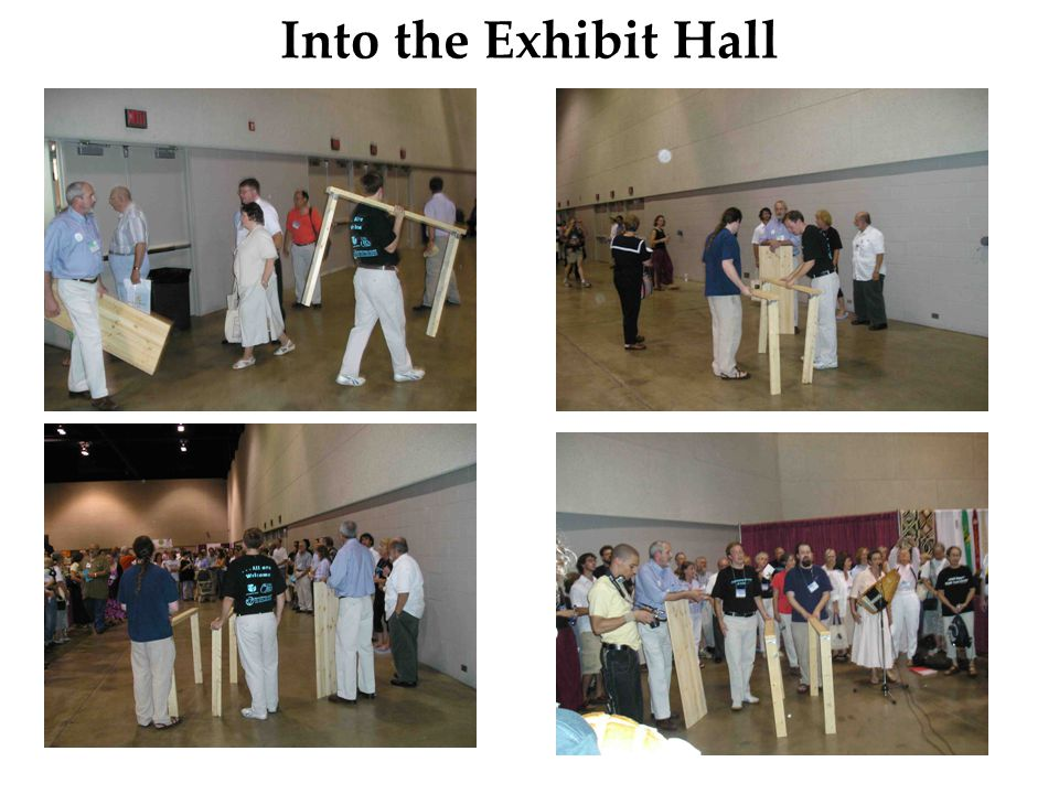 Into the Exhibit Hall