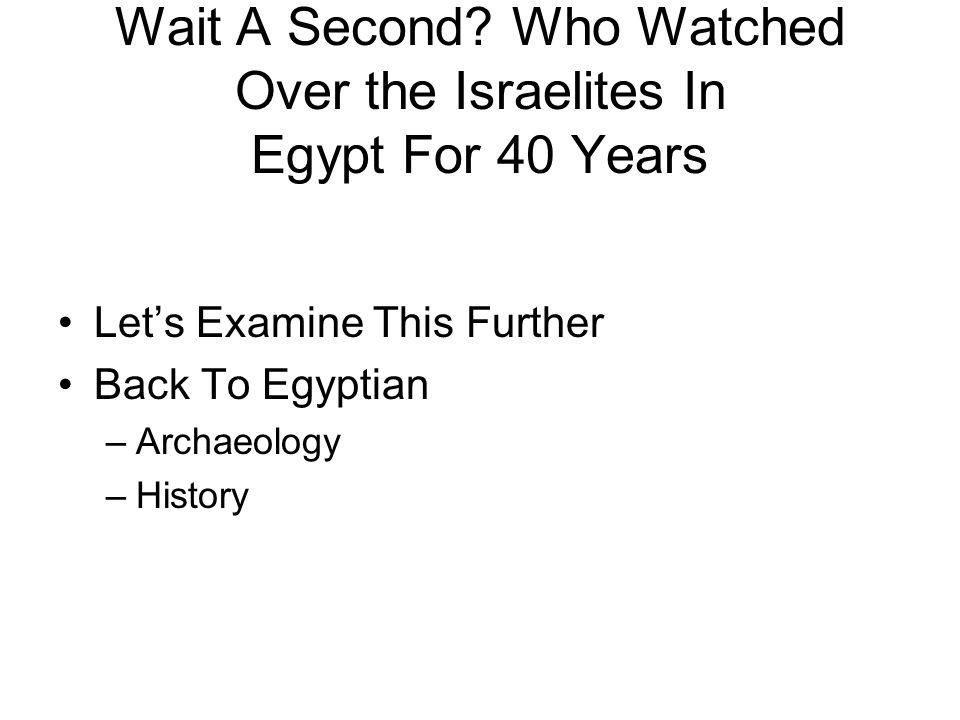 Wait A Second.