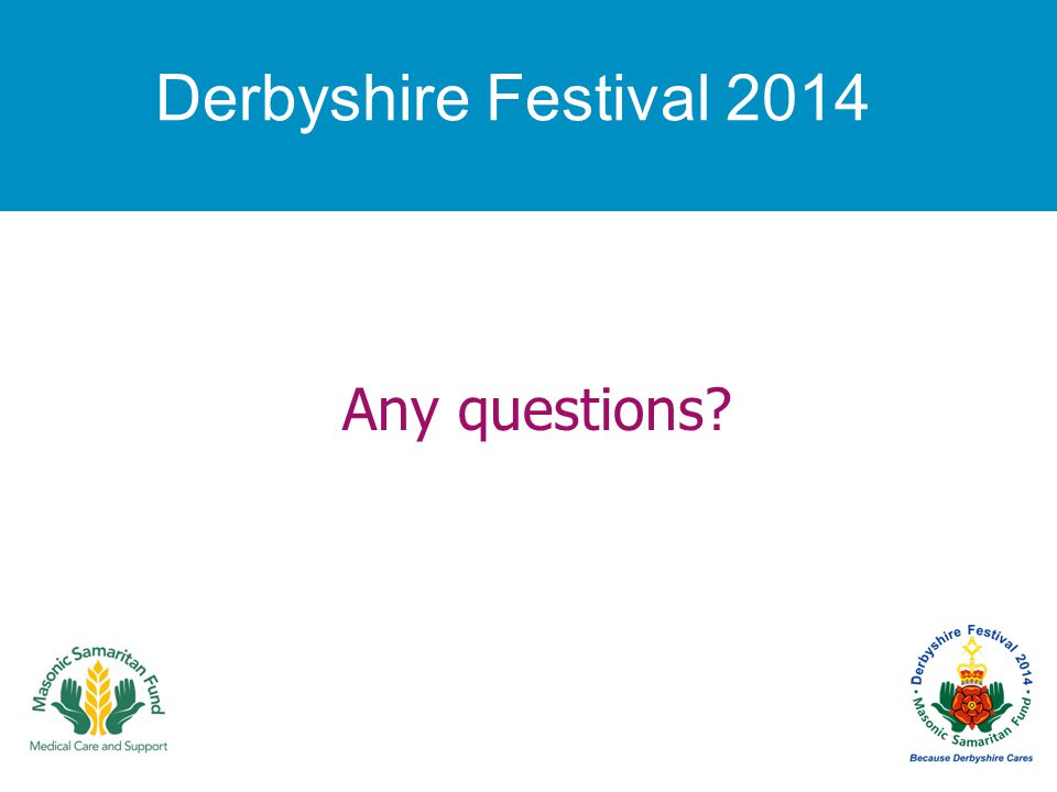 Any questions Derbyshire Festival 2014