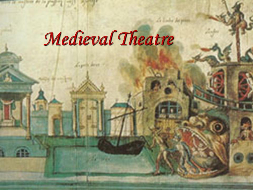  Time frame: 5 th c- mid 16 th c  Secular theatre died in Western Europe with the fall of Rome  Theatrical performances were banned by the Roman Catholic Church as barbaric and pagan  Most Roman theatre had been spectacle rather than literary drama