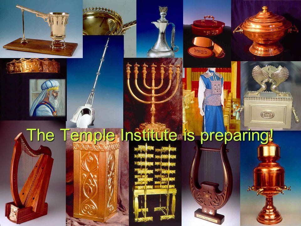 The Temple Institute is preparing!