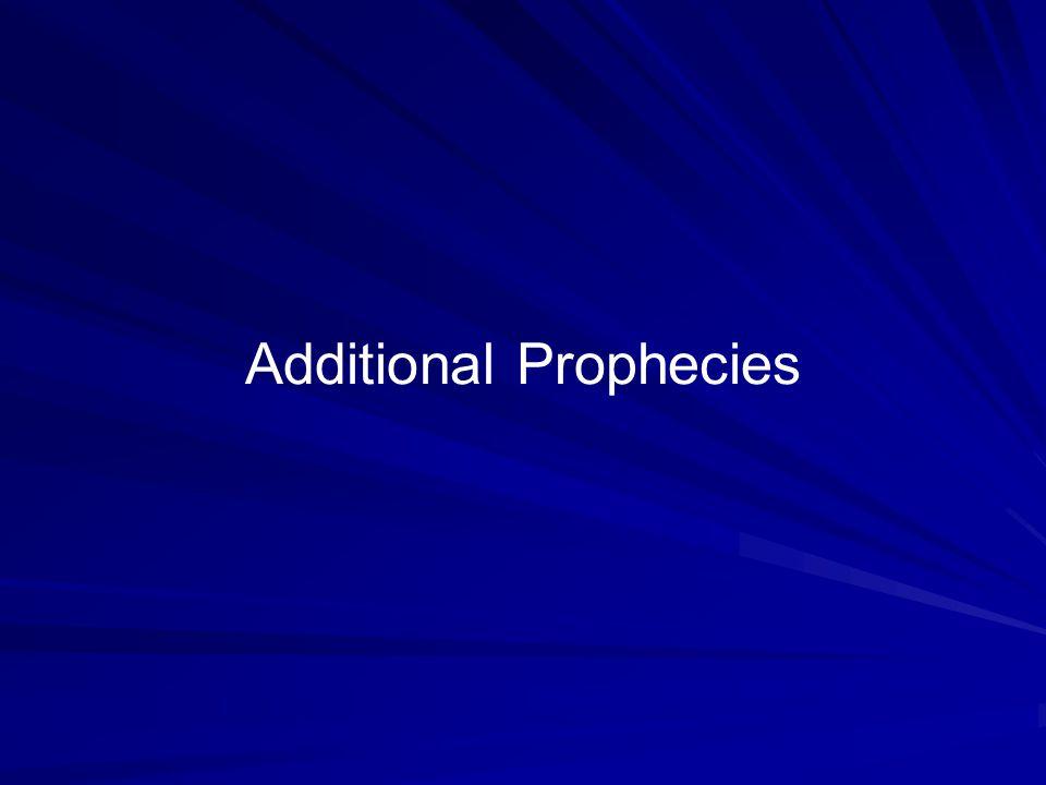 Additional Prophecies