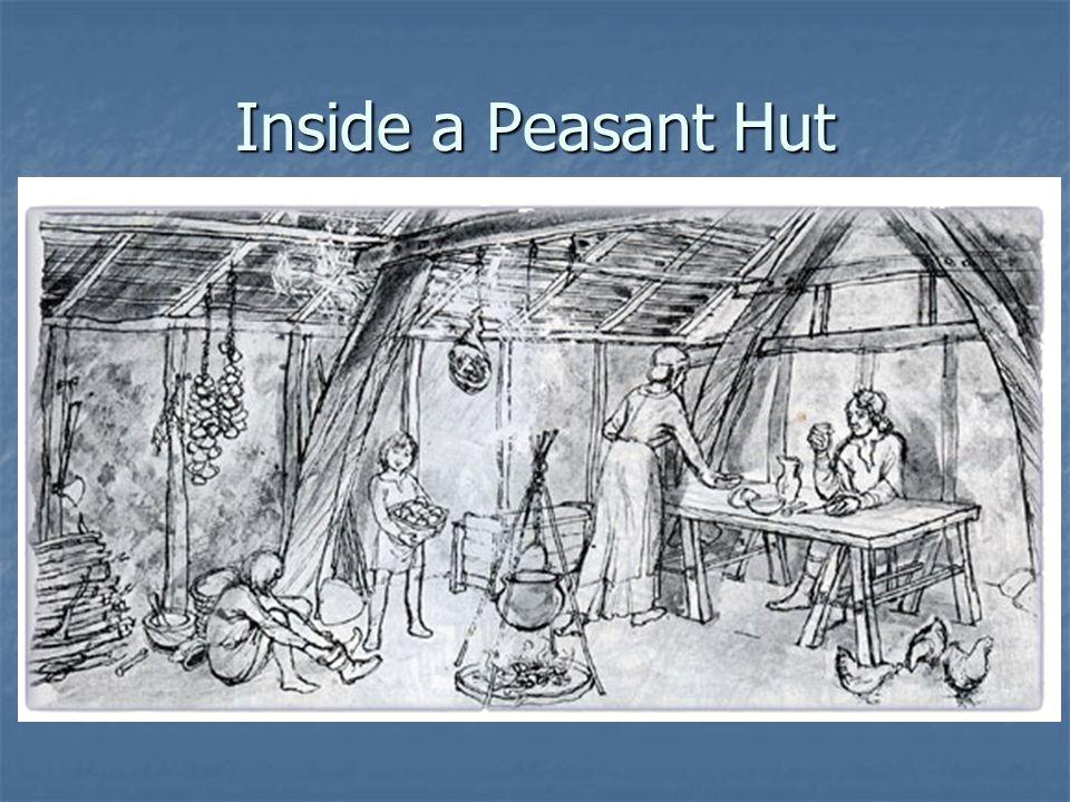 Inside a Peasant Hut