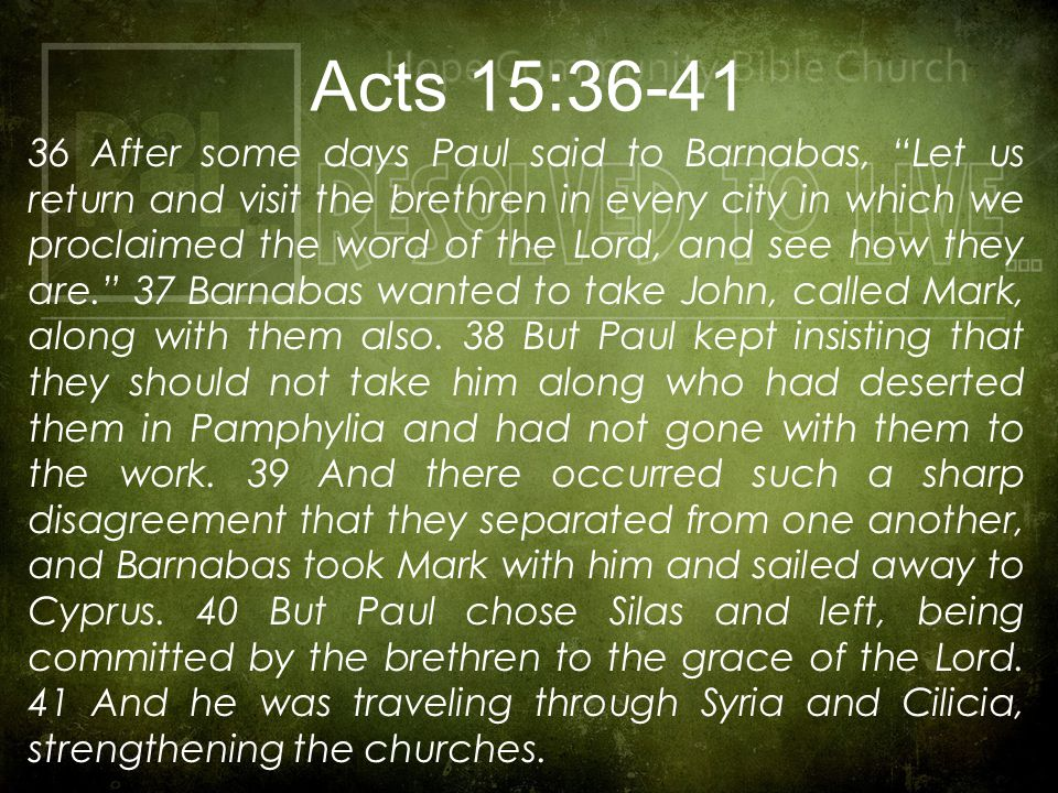 The Book of Acts is the dramatic revelation of the power of the Holy Spirit at work in the church (Acts 1:8); accomplishing God's salvific purposes through the preaching of the life, death and resurrection of Jesus (Acts 4:12); a work which began on the Day of Pentecost (Acts 2:1-3) and which will continue until the return of our Lord for His church (1 Thessalonians 4:17).