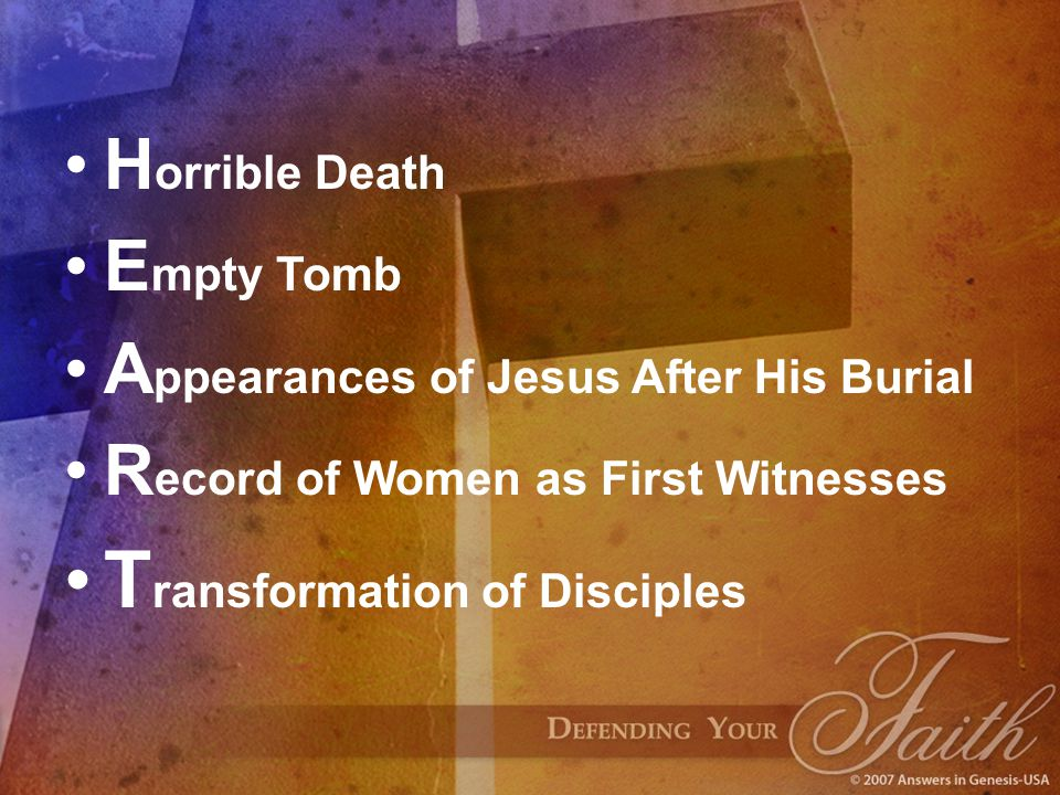 Horrible Death 1.Heavy loss of blood. 2.When His side was pierced, blood and water flowed out.