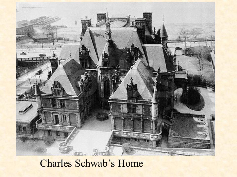 Charles Schwab's Home