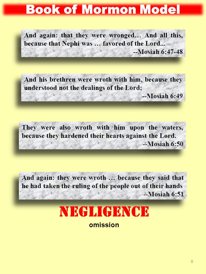And again: they were wroth with him, because he … took the records which were engraven on the plates of brass; for they said that he robbed them.