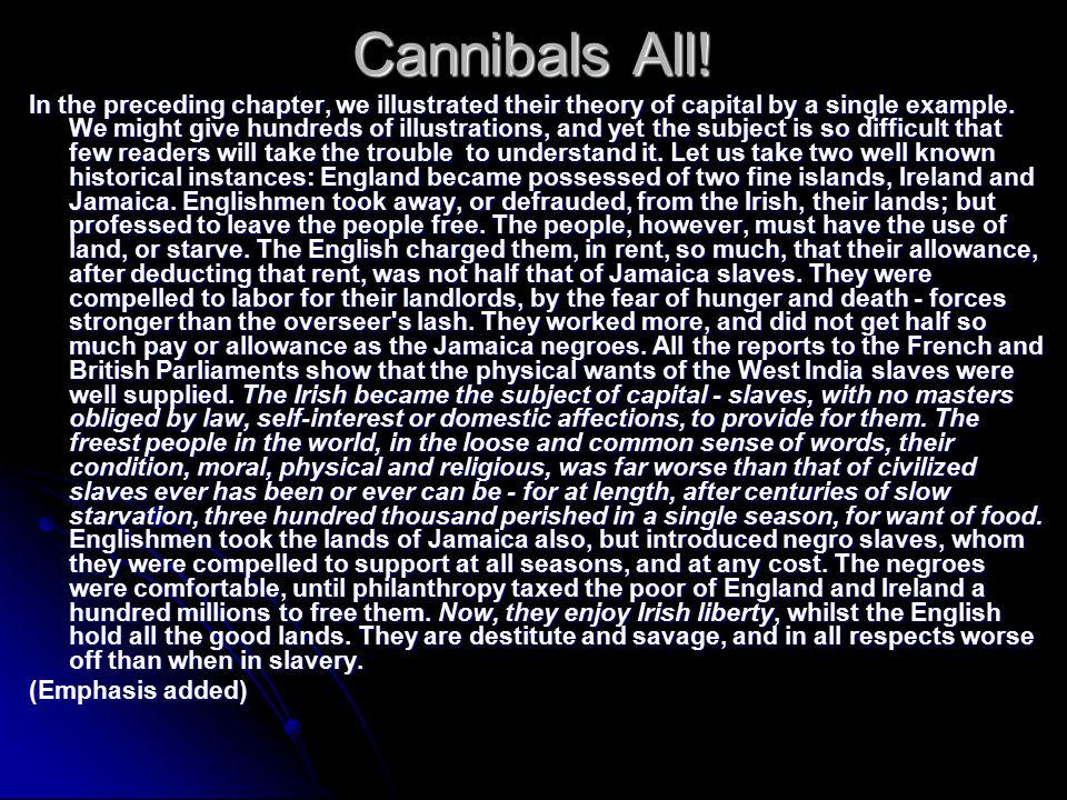 Cannibals All.