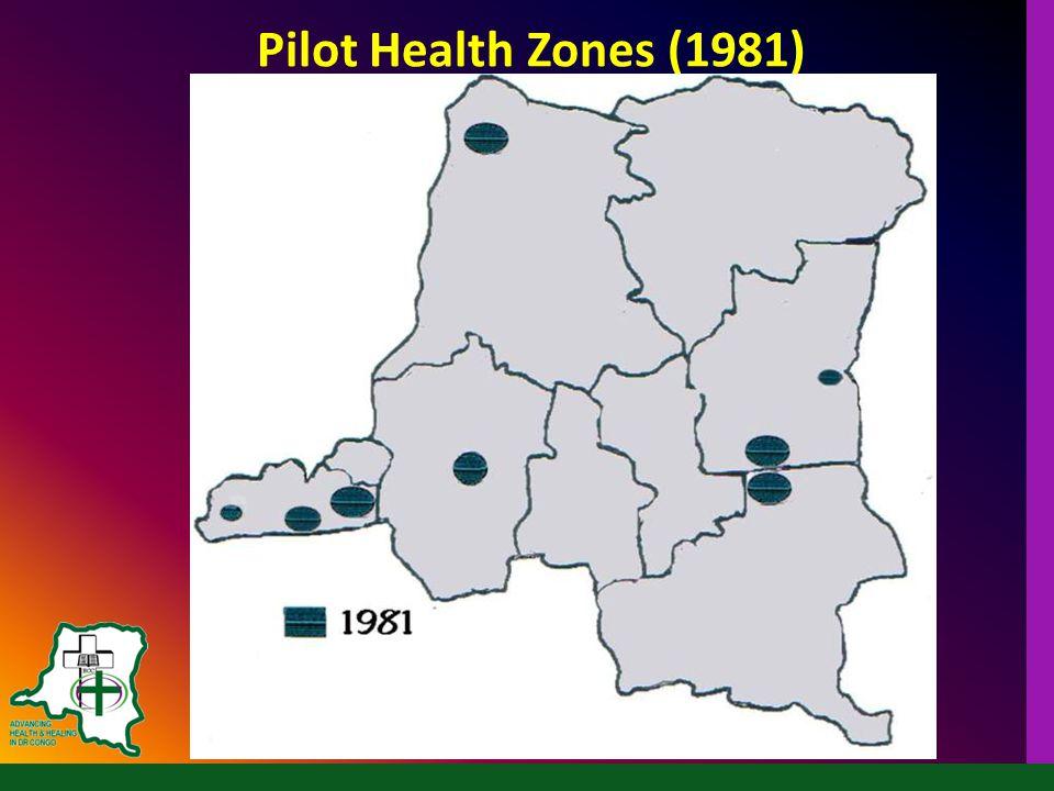 Pilot Health Zones (1981)