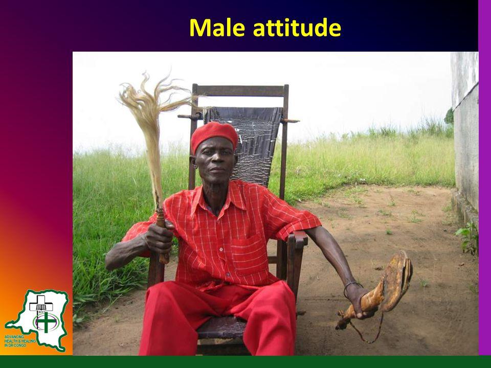 Male attitude
