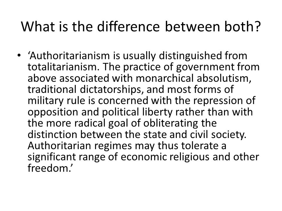What is the difference between both.