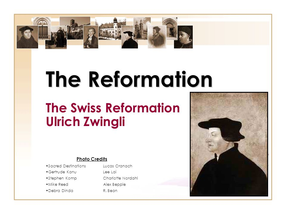 Technically: Part of Holy Roman Empire Humanism made Switzerland key breeding ground for Reformation fever Three expressions of reformation emerged – Zwinglian : Ulrich Zwingli German-speaking cantons of north (esp.