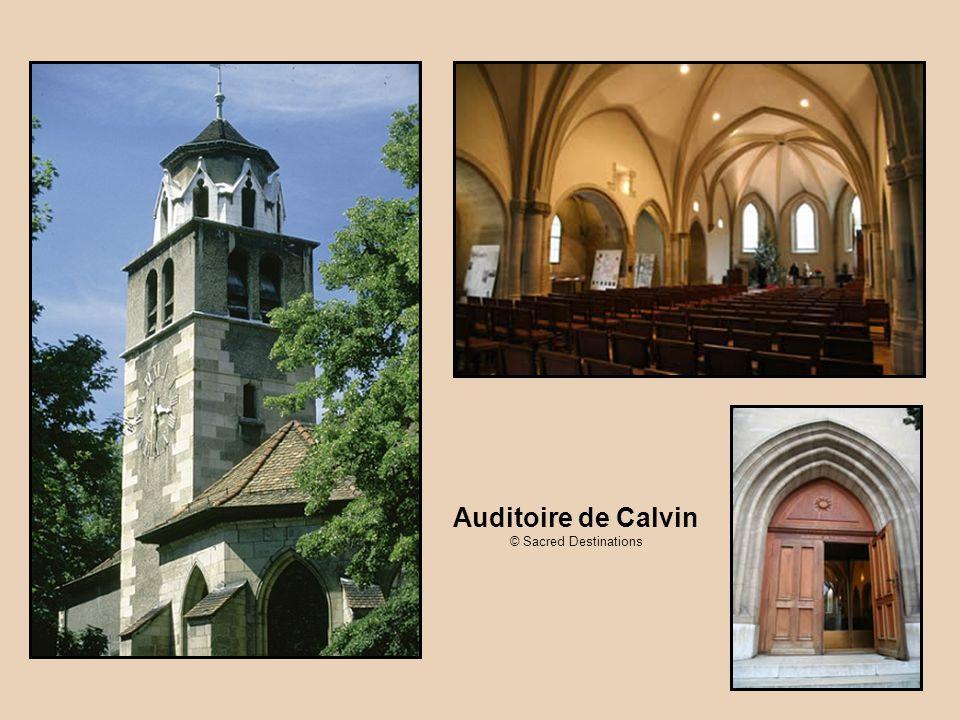 Auditoire de Calvin © Sacred Destinations