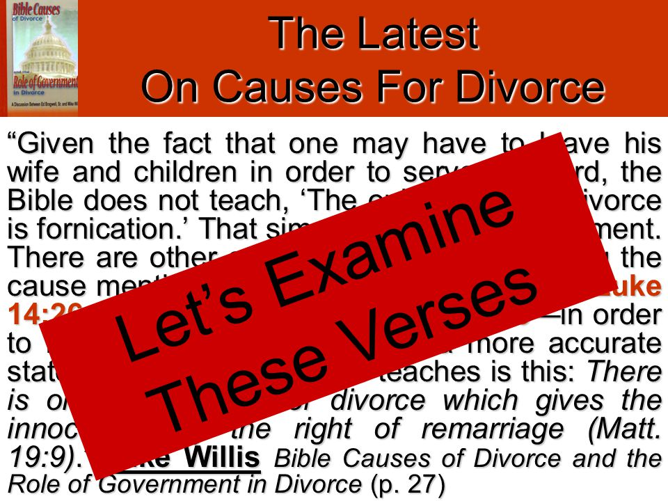 GOD'S RULE Do Not Depart From / Put Away.vv. 10-11 CONTRARY TO THE LAW (DEUT.
