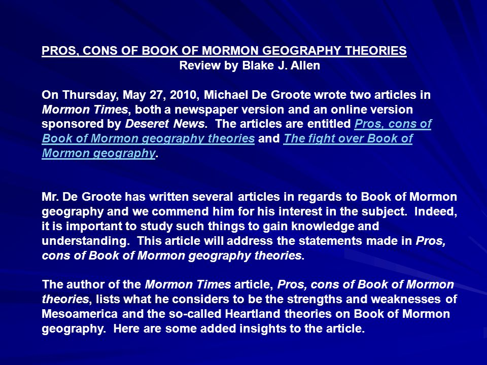 The article only cites Dr.John L. Sorenson as the authority on Mesoamerica geography.