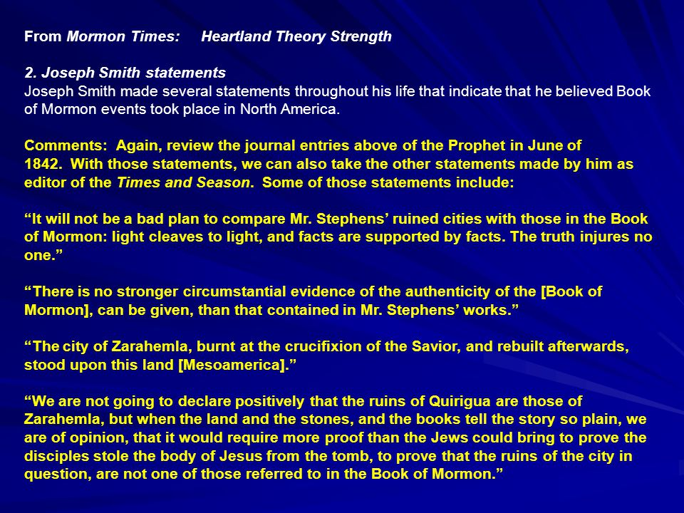 From Mormon Times: Heartland Theory Strength 2.
