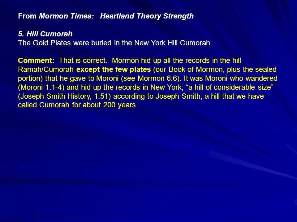 From Mormon Times: Heartland Theory Strength 5.