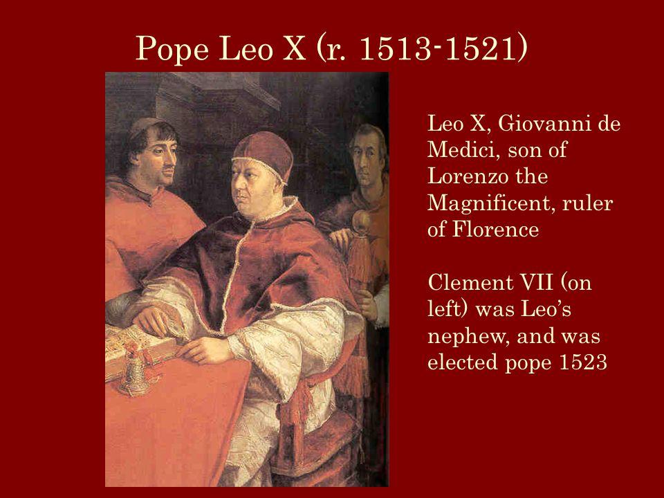 Pope Leo X (r.