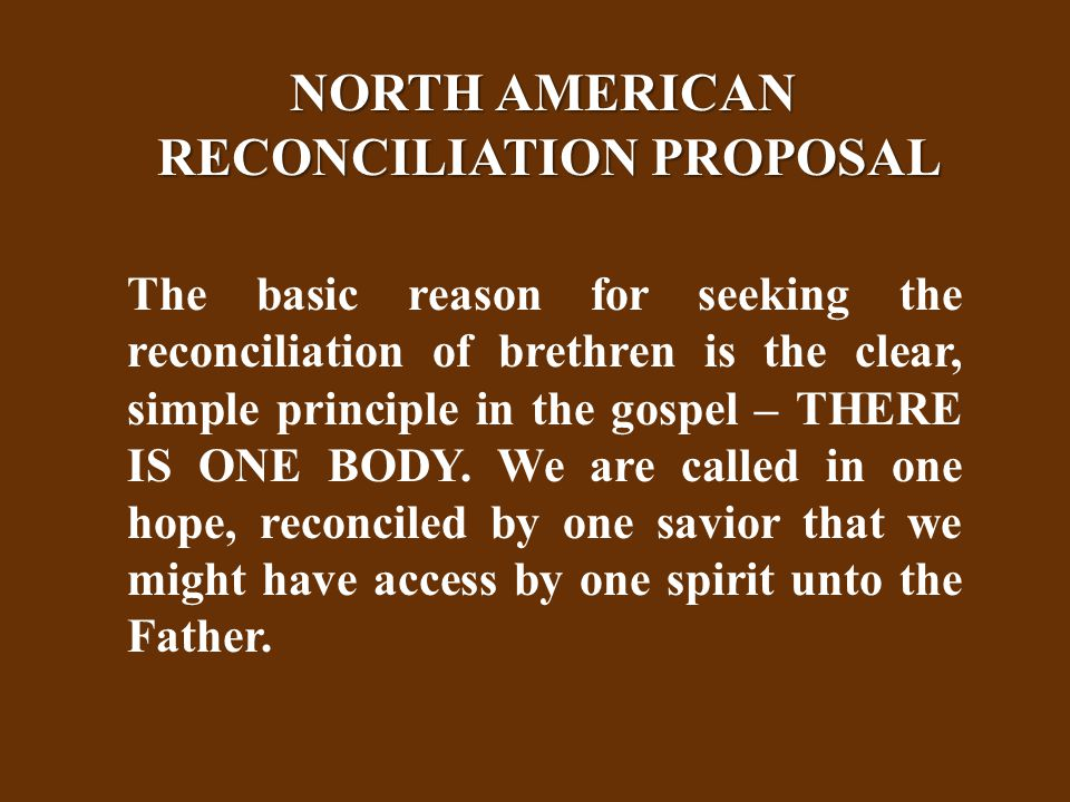 May 24, 1985 To: Fellow Christadelphians Concerned with Preservation of Saving Truth From: John S.